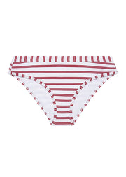 Beachcomber Red Stripe Deep Bikini Brief