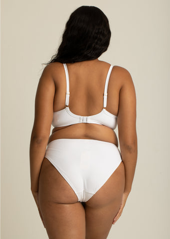 Boudoir Beach White Belted Bikini Brief