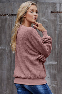 Pink Terry Thread Cashmere Sweatshirt Sweatshirts & Hoodies Discount Designer Fashion Clothes Shoes Bags Women Men Kids Children Black Owned Business
