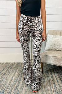 Leopard Print Bell Bottom Pants Pants & Culotte Discount Designer Fashion Clothes Shoes Bags Women Men Kids Children Black Owned Business