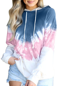 Pink Demi Tie-dye Hoodie Sweatshirts & Hoodies Discount Designer Fashion Clothes Shoes Bags Women Men Kids Children Black Owned Business