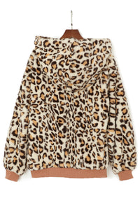 Khaki Cozy h Leopard Jacket Suits & Coats Discount Designer Fashion Clothes Shoes Bags Women Men Kids Children Black Owned Business