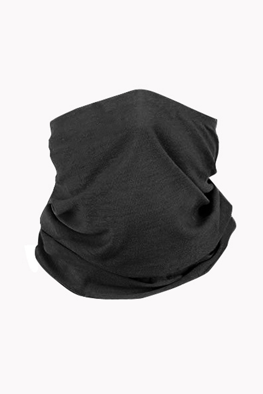 Black Outdoor Cycling Climbing Face Bandana Neck Gaiter Neck Gaiter Discount Designer Fashion Clothes Shoes Bags Women Men Kids Children Black Owned Business