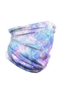 Celestial Sea Shells Seamless Bandana Neck Gaiter Neck Gaiter Discount Designer Fashion Clothes Shoes Bags Women Men Kids Children Black Owned Business