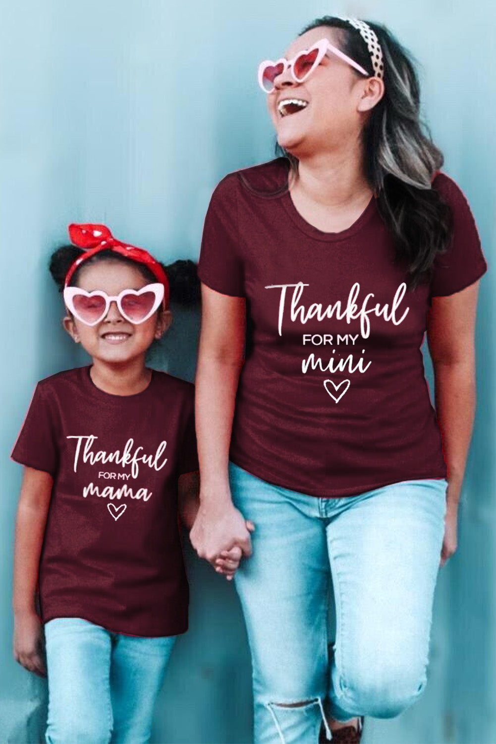 Wine Letters Print Mom Tee Tops & Tees Discount Designer Fashion Clothes Shoes Bags Women Men Kids Children Black Owned Business