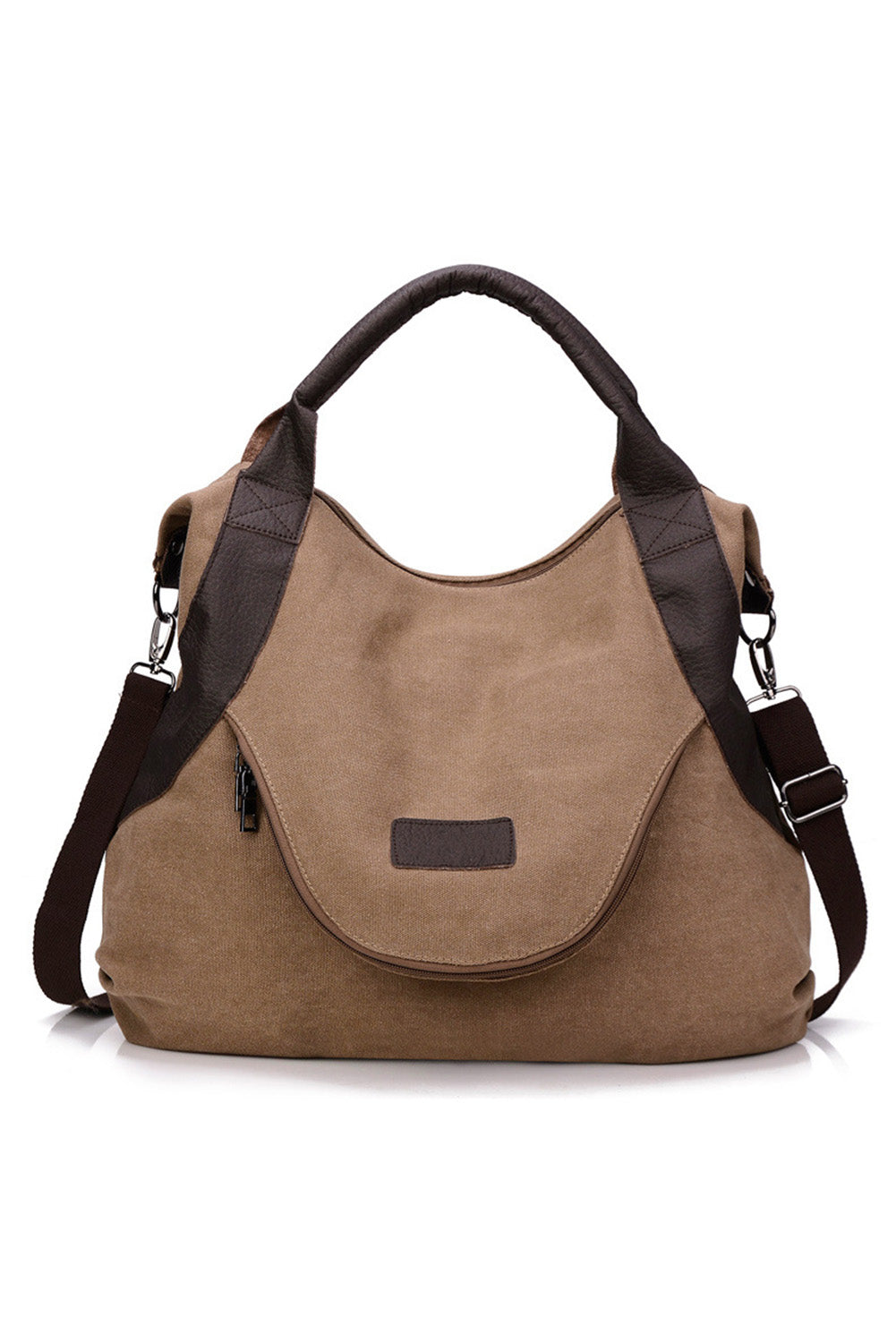 Brown Casual Canvas Handbag Shoulder Bag Bags Discount Designer Fashion Clothes Shoes Bags Women Men Kids Children Black Owned Business