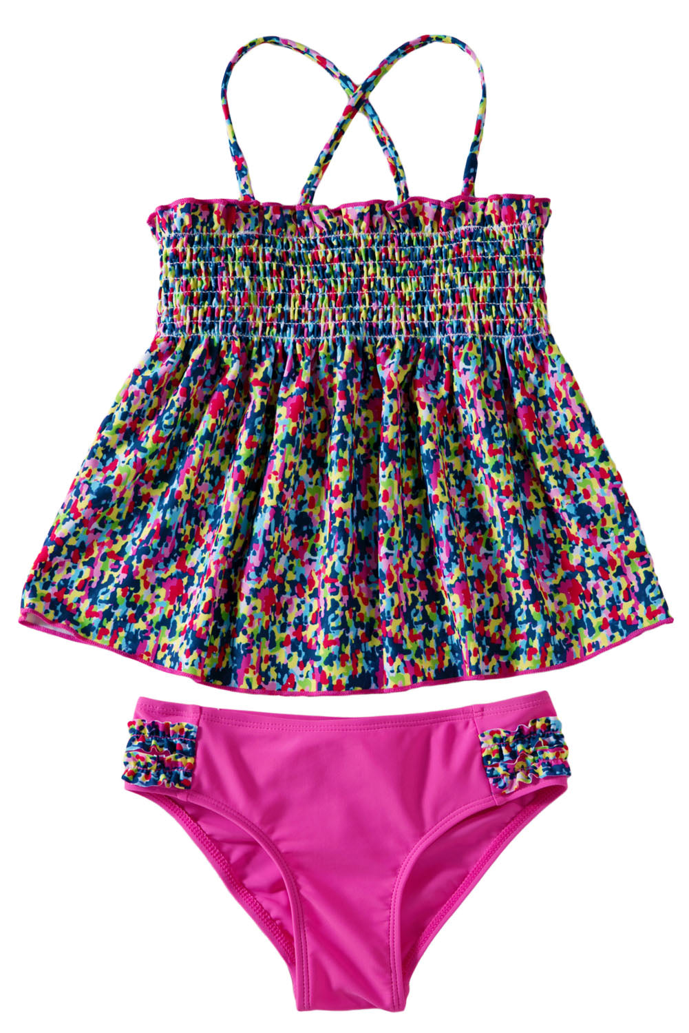 Little Girls' Boho Two Piece Swimsuit Set Girls Swimsuits Discount Designer Fashion Clothes Shoes Bags Women Men Kids Children Black Owned Business