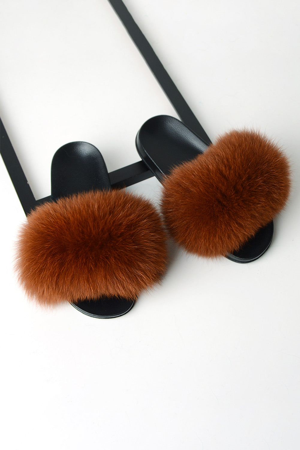 Brown Fluffy Slippers Slippers Discount Designer Fashion Clothes Shoes Bags Women Men Kids Children Black Owned Business