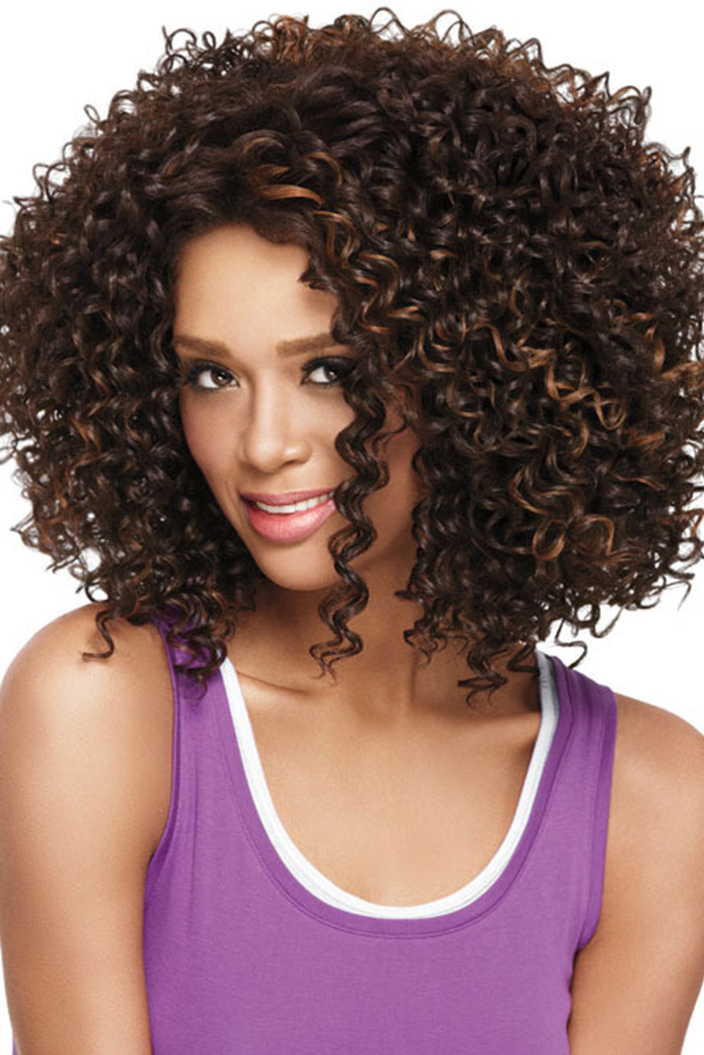 Brown African American Brunette Woman Wig Hair Wigs Discount Designer Fashion Clothes Shoes Bags Women Men Kids Children Black Owned Business