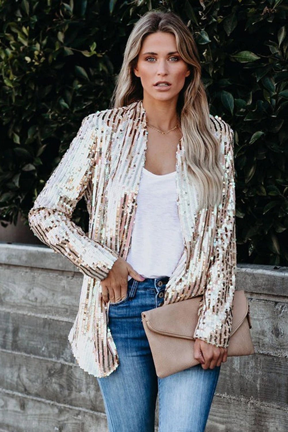 Bling Bling Sequin Blazer Suits & Coats Discount Designer Fashion Clothes Shoes Bags Women Men Kids Children Black Owned Business