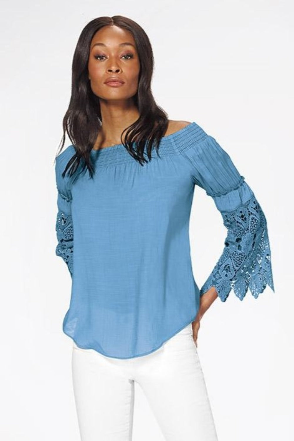 Perfect Novelty Blouse with Lace