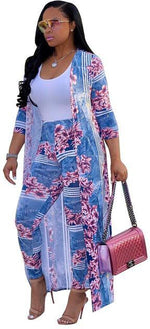Load image into Gallery viewer, Women's 2 Piece Dashiki Pants Suit