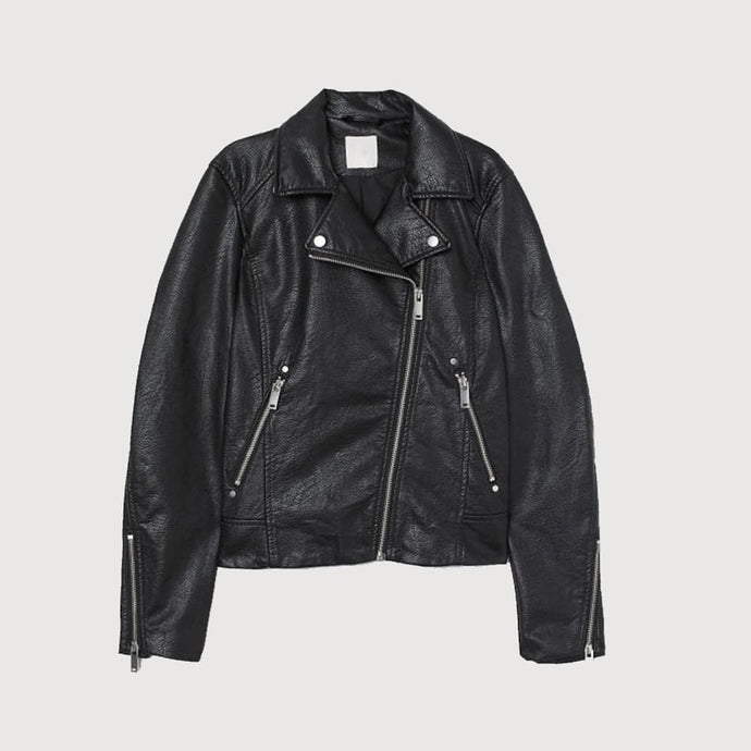 Nitz leather biker jacket