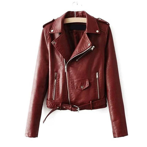Nitz Leather Buckle Belt Jacket