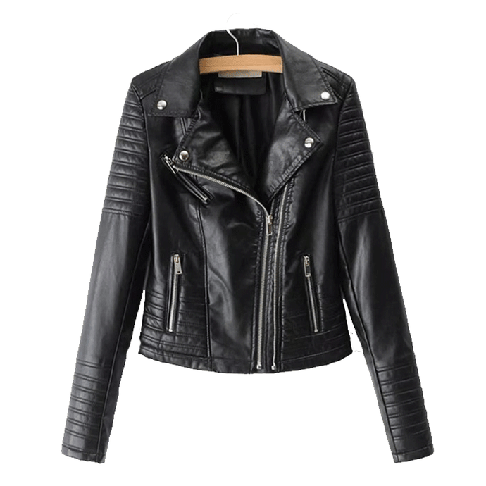 Nitz Stylish Leather Biker Jacket