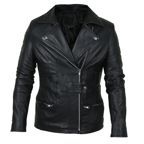 Classy Black Brando Genuine Leather Jacket