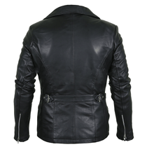 Load image into Gallery viewer, Classy Black Brando Genuine Leather Jacket