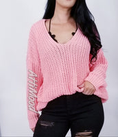 Vivi V Neck Knit Sweater