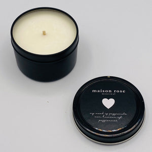 LOVE CANDLE MINI 4 OZ | MINI BOUGIE LOVE 4 OZ