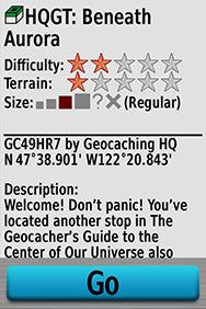 Geocaching with the Garmin GPSMAP 64 series