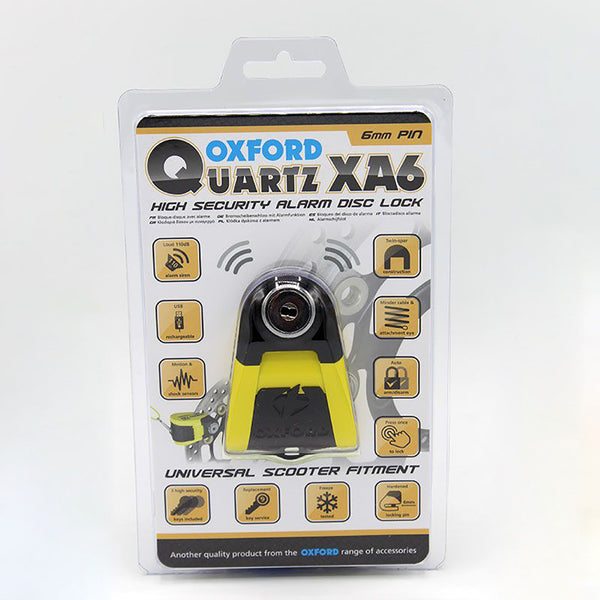 Oxford Quartz XA6 Alarm Disc Lock