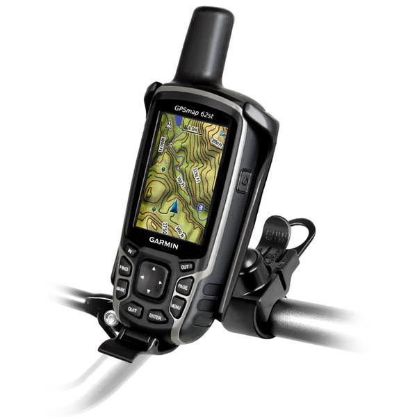 RAM® EZ-Strap™ Rail Mount for Garmin Astro 320, GPSMAP 62 & 64 Series