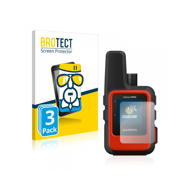 BROTECT AirGlass Screen Protector 3 Pack (Garmin inReach Mini)