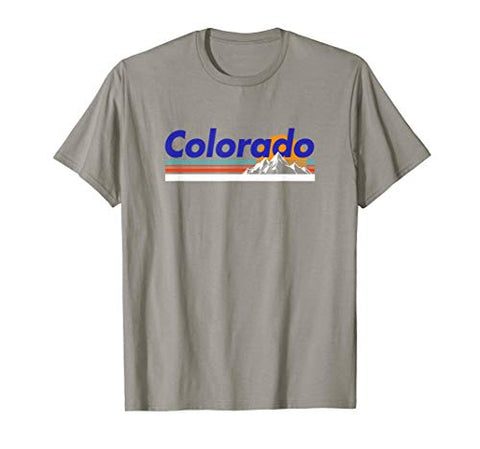 Colorado Mountain Outdoor Retro Landscape T-Shirt