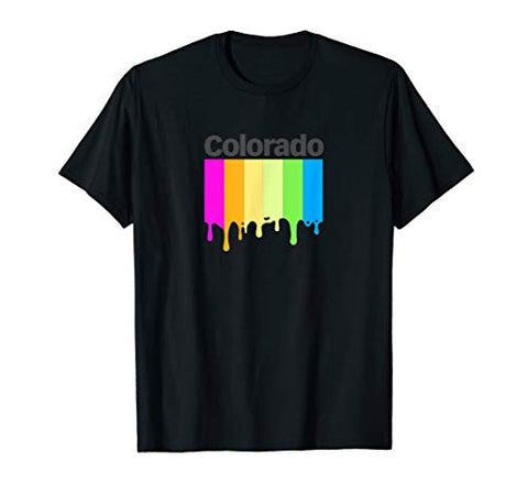 Colorado Vintage Retro 80s 90s Inspired Design T-Shirt