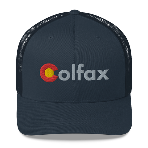 Colfax Colorado Classic Retro Trucker Cap