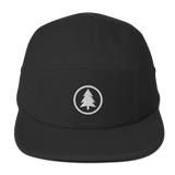 Classic Tree Logo Five Panel Cap