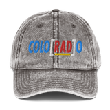 Colo[RAD]o Vintage Cotton Twill Cap