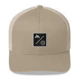 Colorado Underground Box Logo Classic Retro Trucker Hat