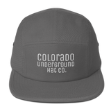 Colorado Underground Hat CO Five Panel Cap