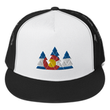 Colorado Flag Forest Classic Flat Bill Trucker Cap