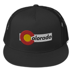 Colorado Classic Flat Bill Trucker Cap
