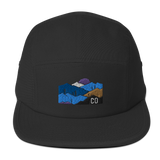 Colorado Mountains Classic Five Panel Cap