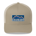 Colorado Mountains Retro Trucker Cap