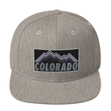 Colorado Baseball Purple Mountains Classic Snapback Hat