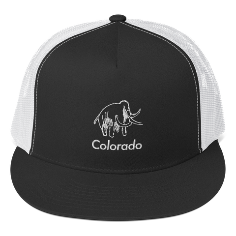 Colorado Mammoth Classic Flat Bill Trucker Cap