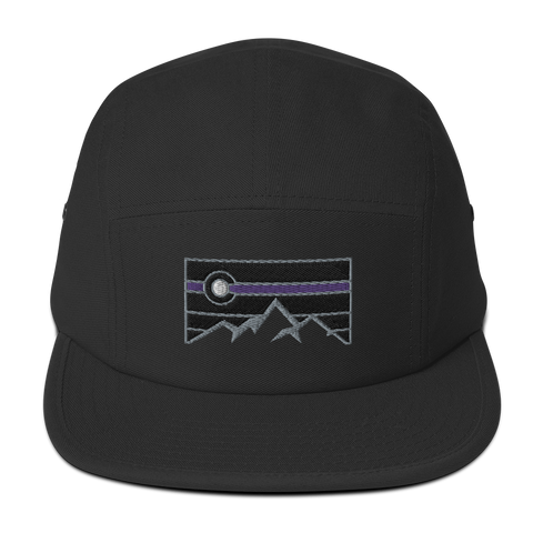 Colorado Retro Landscape Five Panel Cap
