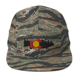 Colorado Trout Forest Five Panel Cap