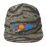 Colorado Trout Fishing Five Panel Cap