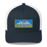 Colorado Retro Design Retro Trucker Hat