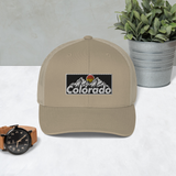 Colorado Vintage Design Retro Trucker Cap