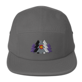 Colorado Forest Trees Five Panel Cap