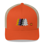 Colorado Forest Trees Classic Retro Trucker Cap