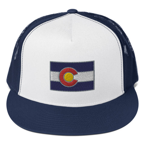 Colorado Flag Trucker Cap