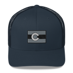 Colorado Flag Retro Trucker Cap