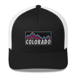Colorado Mountains Retro Trucker Hat